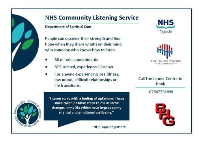 Listening Service leaflet